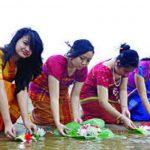 রাখাইন সম্প্রদায়ের বর্ষবরণের তিন দিনের উৎসব সাংগ্রাই